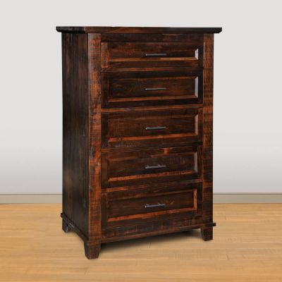 Amish Made Rustic Bedroom Chest