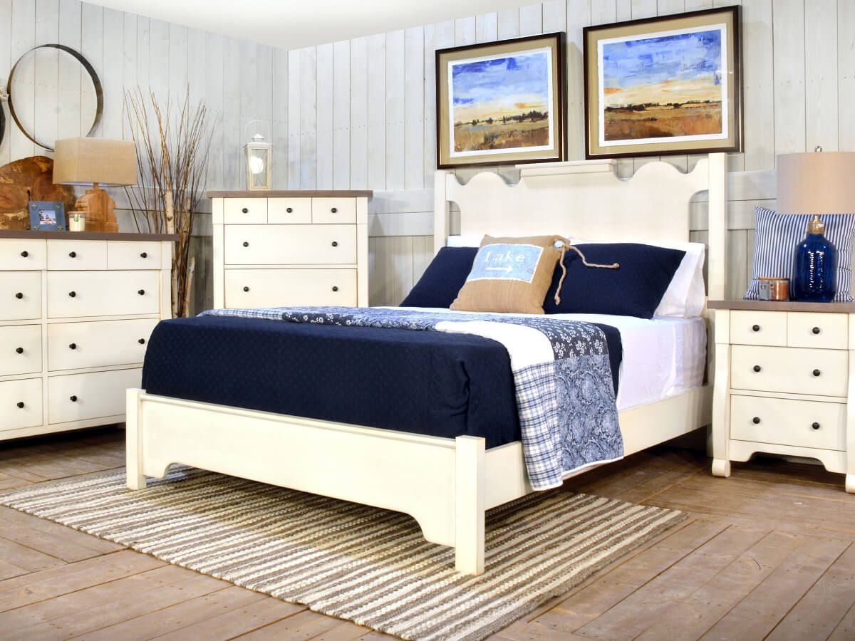 Belledonne Shabby Chic Bedroom Set