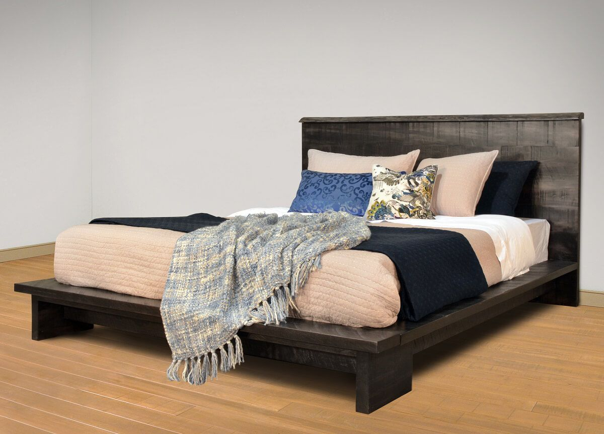 Rustic Live Edge Bed