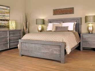 Grey or Gray on Amish Furniture