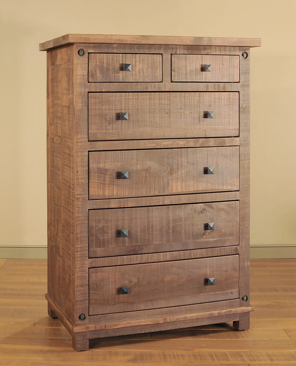 Rough Sawn Bedroom Chest