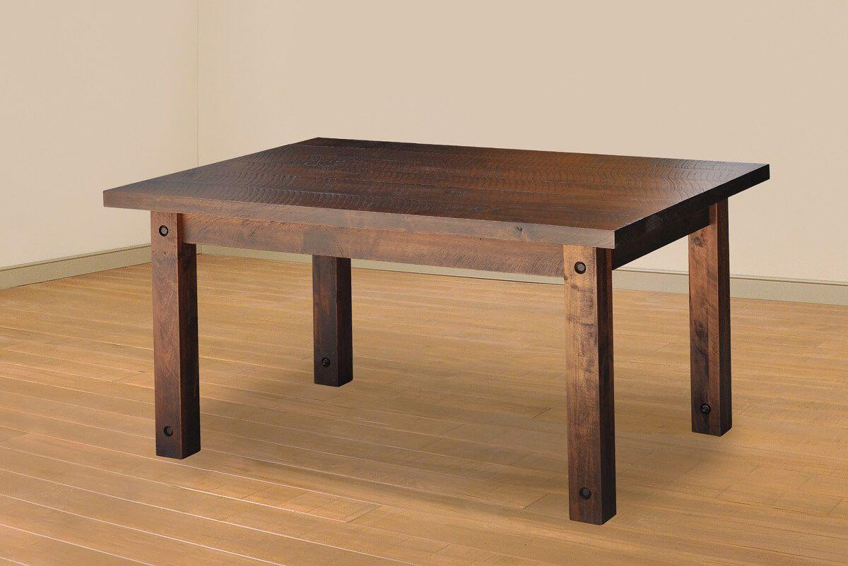 Deep Creek Rustic Dining Table