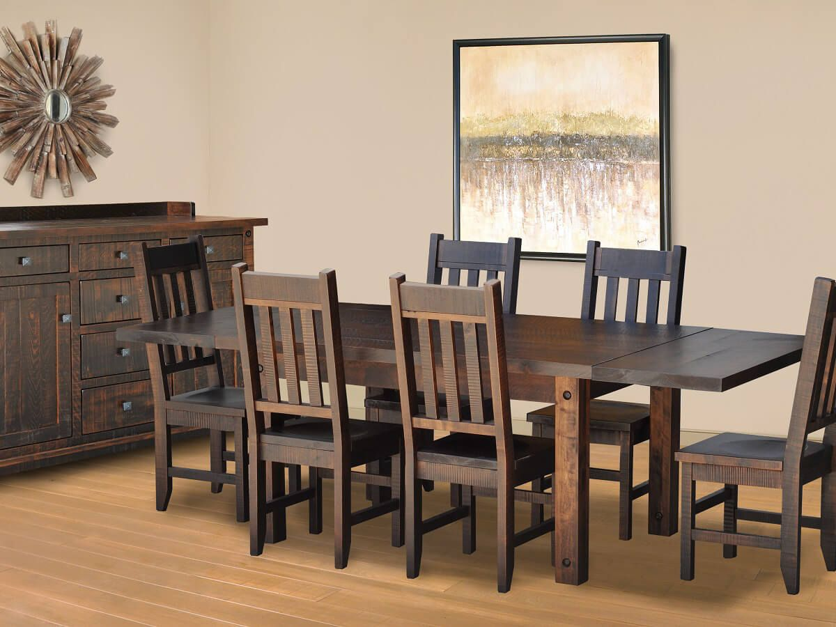 Deep Creek Rustic Dining Collection