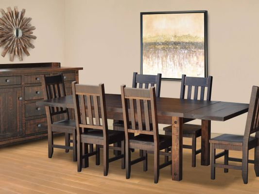 Deep Creek Rustic Dining Set