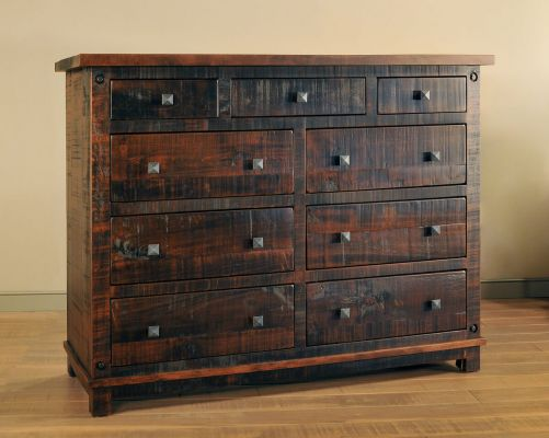 Rough Sawn Maple Bedroom Chest
