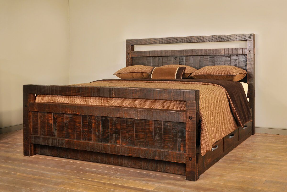 Lakemont Rustic Bed