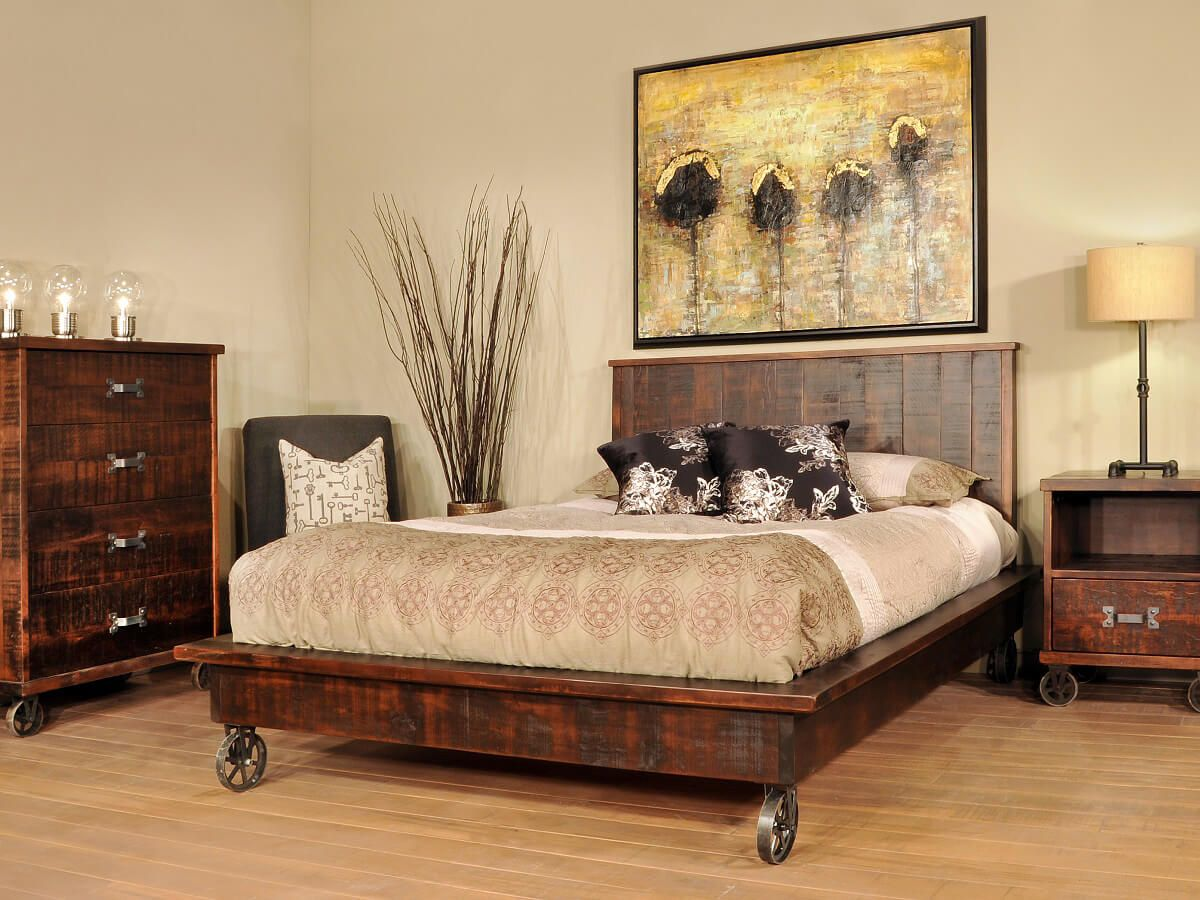 Pembroke Industrial Chic Bedroom Set