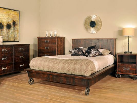 Pembroke Steam Punk Bedroom Set