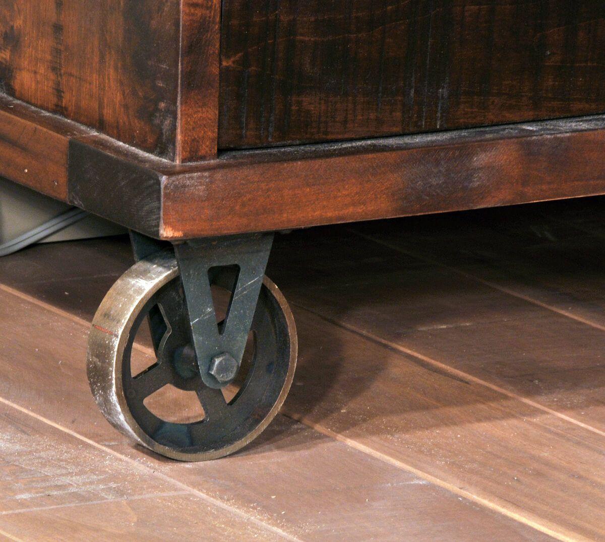 Caster Wheel Detail
