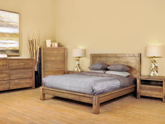 Vallejo Rustic Bedroom Set