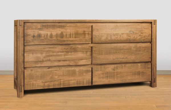 Rough Sawn Bedroom Dresser