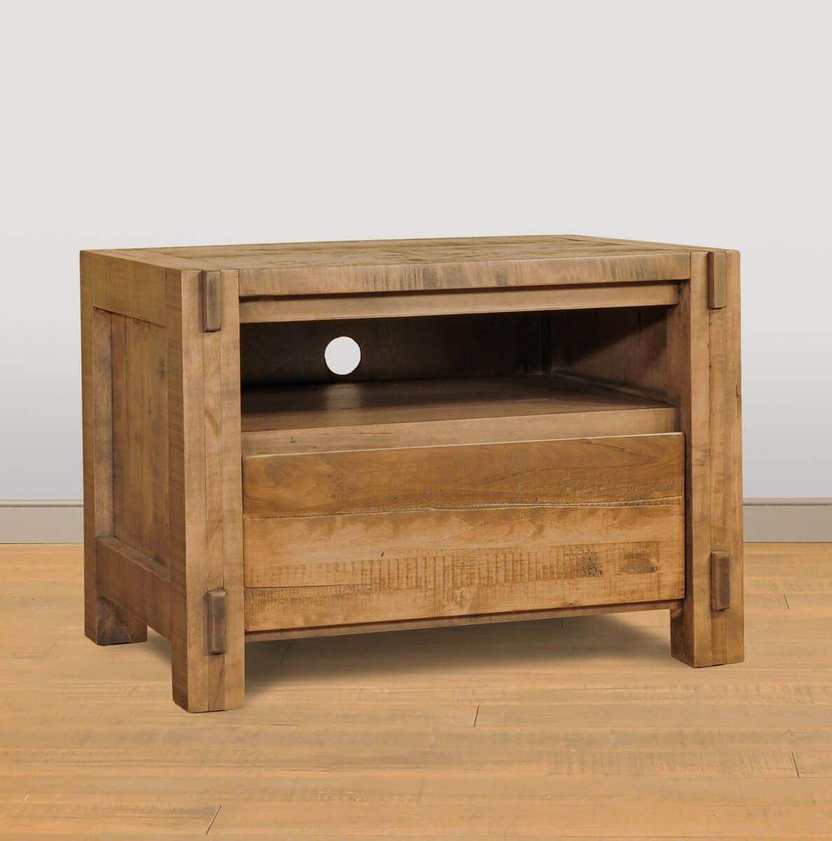 Rustic Open Nightstand
