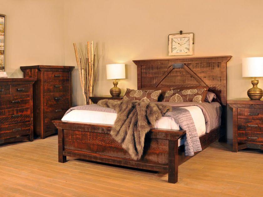 Widdicomb Industrial Bedroom Set Countryside Amish Furniture