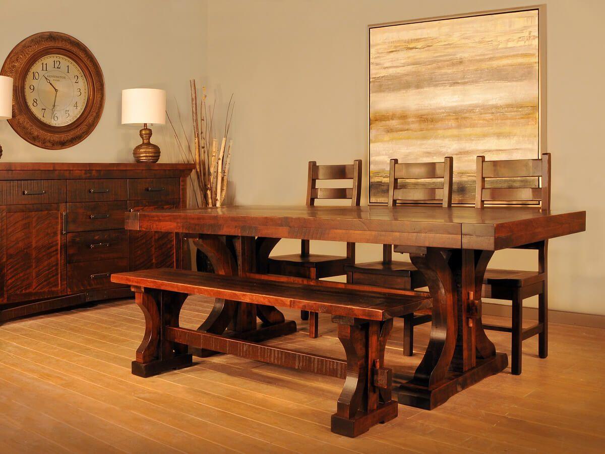 Widdicomb Rustic Dining Set