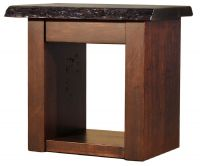 Arapaho Pass Live Edge End Table