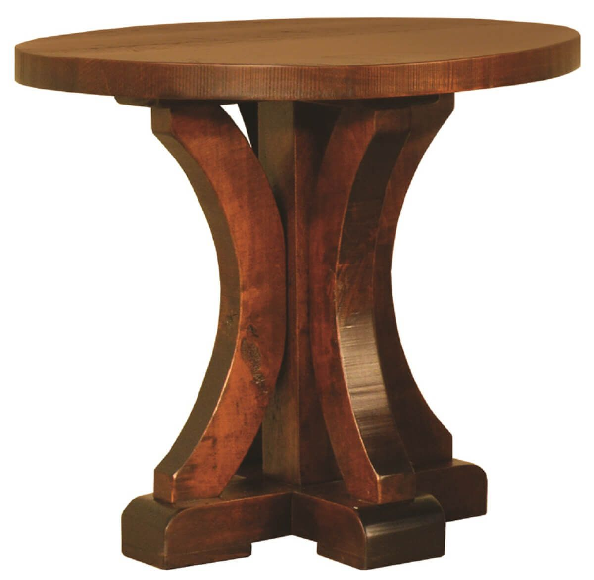 Widdicomb Round End Table