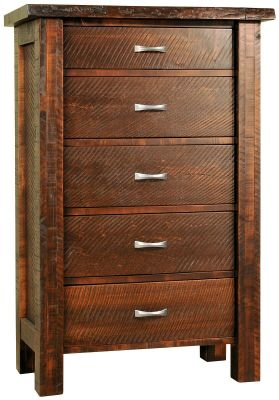 Arapaho Pass Live Edge Chest of Drawers