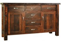 Arapaho Pass Live Edge Sideboard