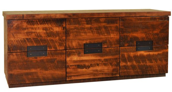 Barossa Valley Wooden Rustic Dresser Countryside Amish