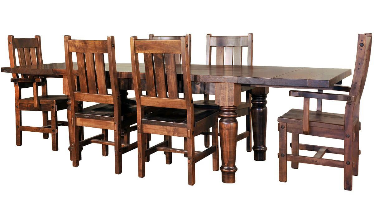 Bayberry Dining Chairs and Table