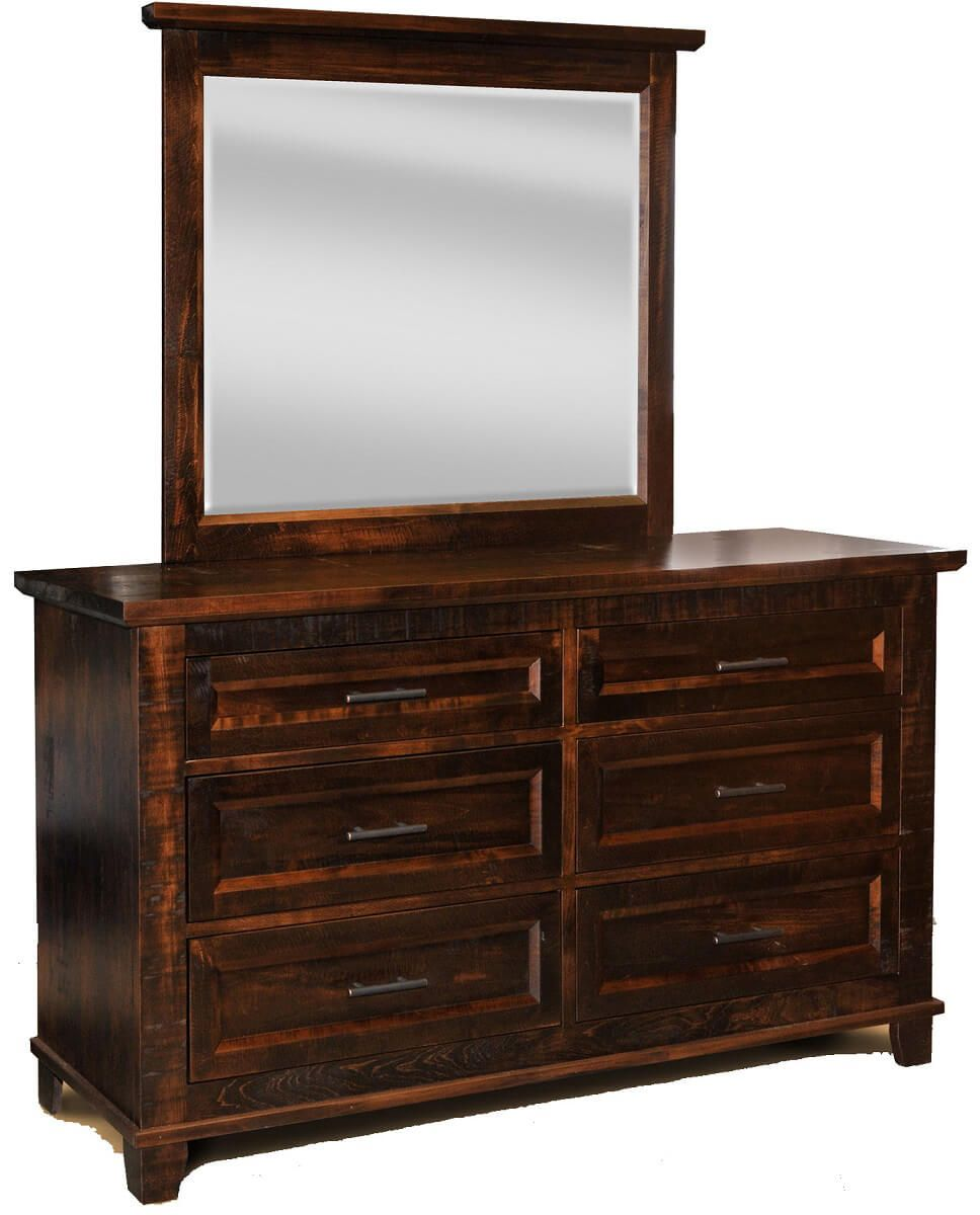 Bear Creek Mirror Dresser