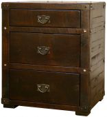 Cape Neddick 3-Drawer Nightstand