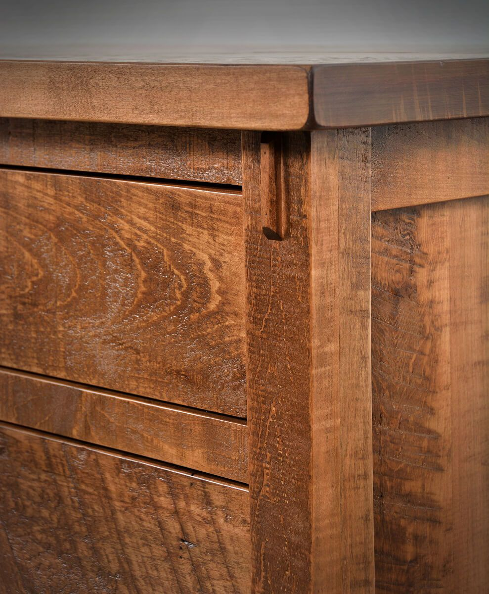 Rustic Chest Detail