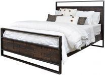 Chauncey Industrial Bed