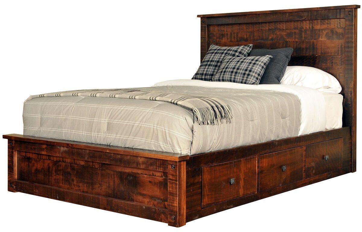 Deep Creek Bed with Storage