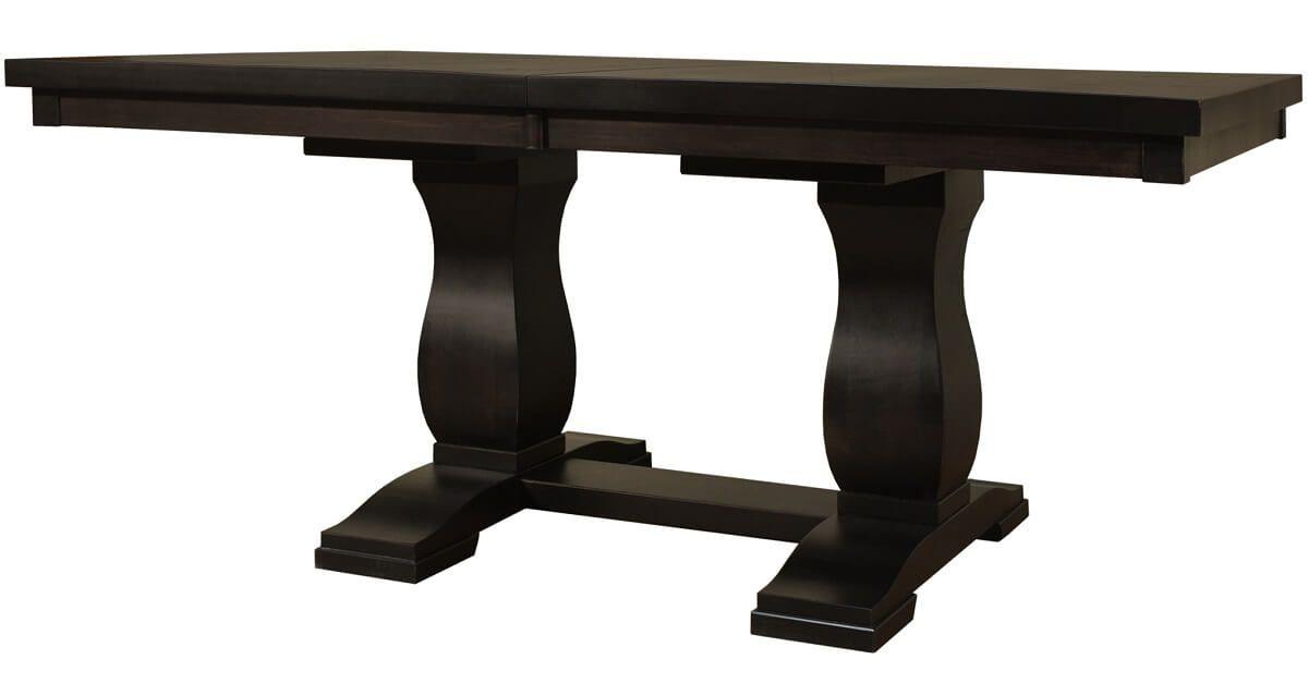 Elkins Double Pedestal Table