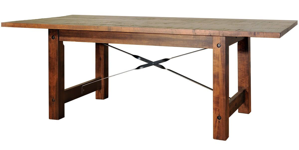 Finger Lakes Table With Leaves Countryside Amish Furniture