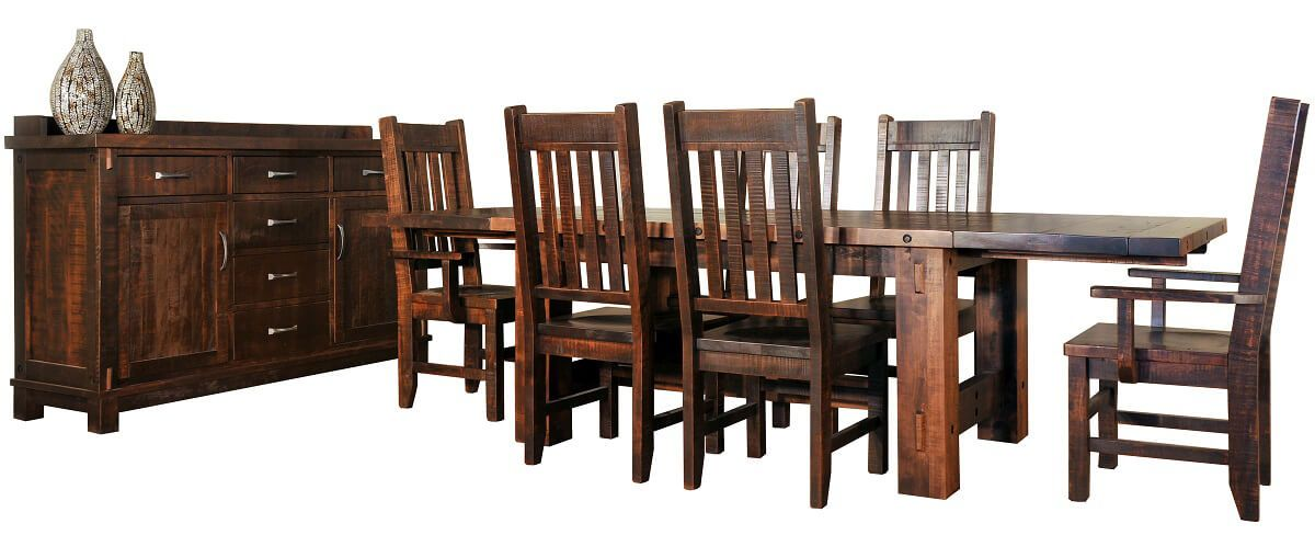 Shown with Lakemont Chairs and Deep Creek Server