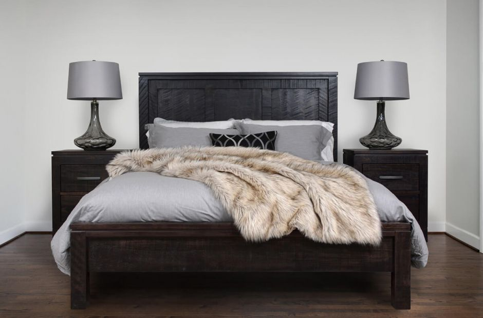 Sinclair Modern Rustic Bedroom Set - Countryside Amish Furniture