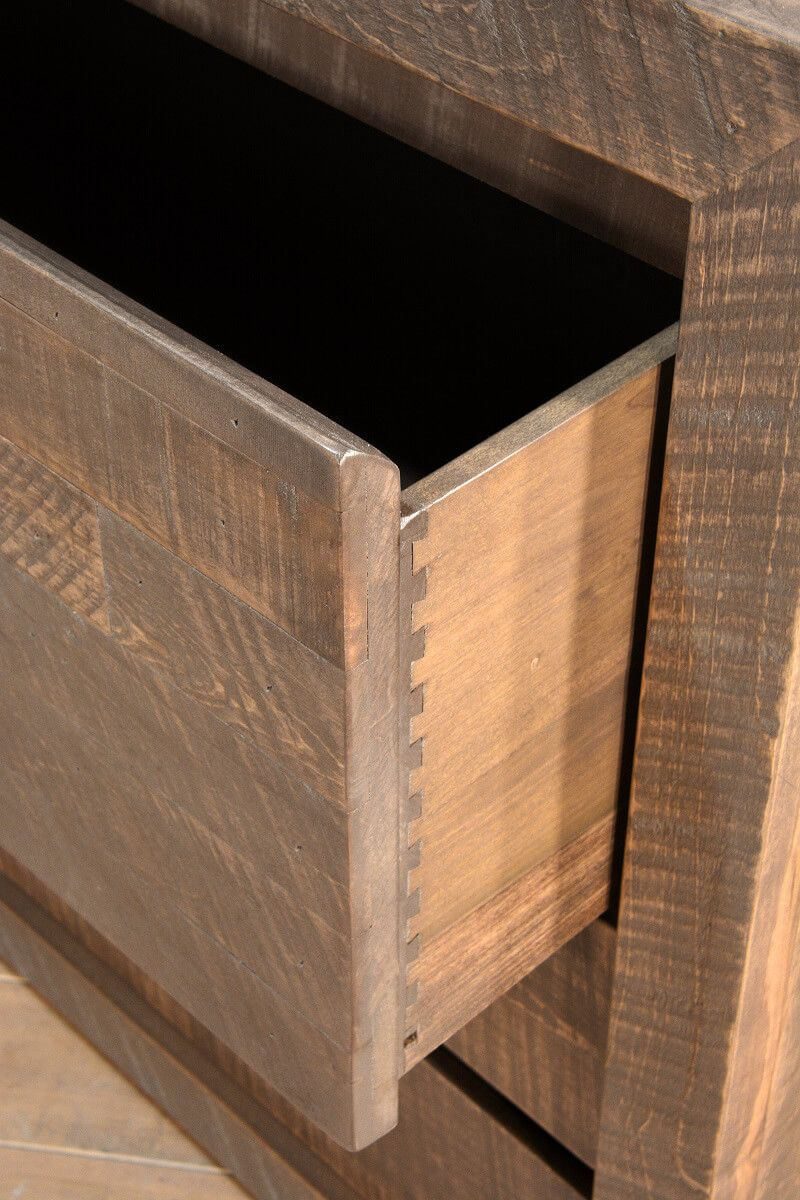 Rustic Drawer Detail