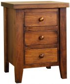 Sunnybrook 3-Drawer Nightstand