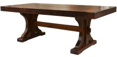 Widdicomb Rustic Trestle Table