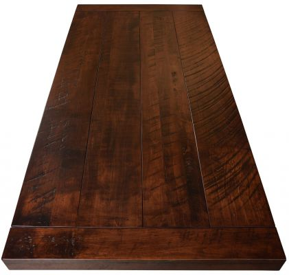 Planked Solid Wood Table Top