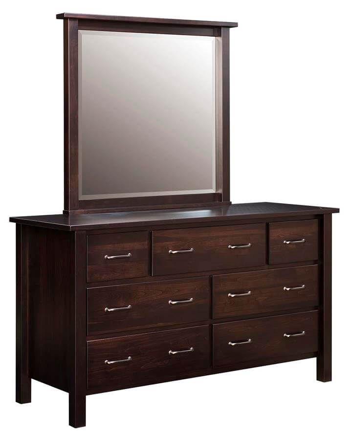 Beaufort Dresser and Mirror