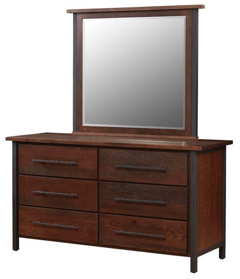 Nicasio Creek Dresser and Mirror