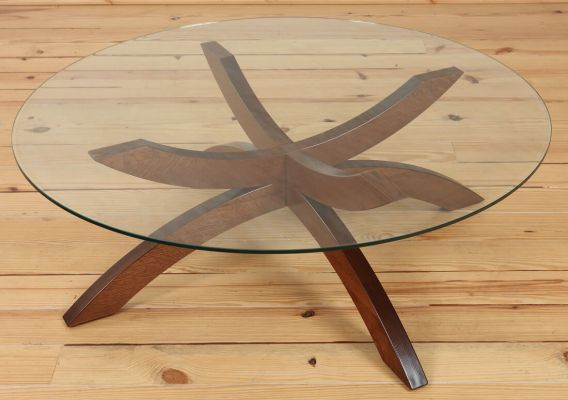 Lenox Glass Coffee Table