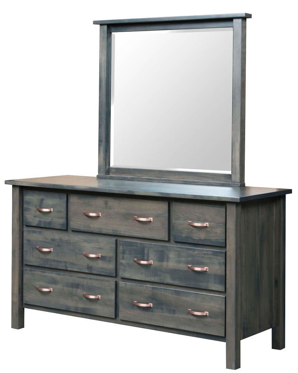 Gray Bedroom Dresser