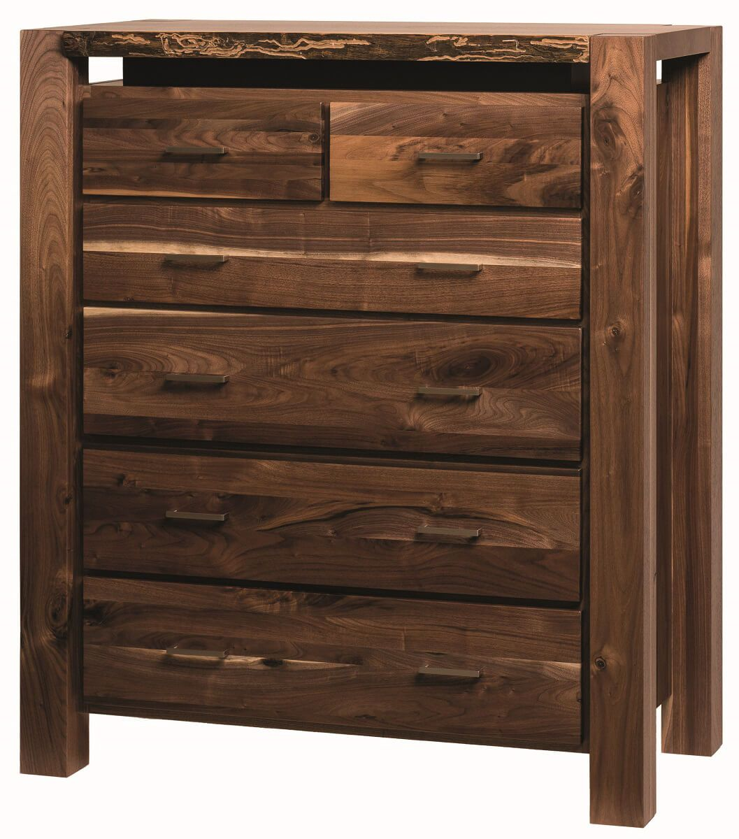 Phoenix Live Edge Chest of Drawers