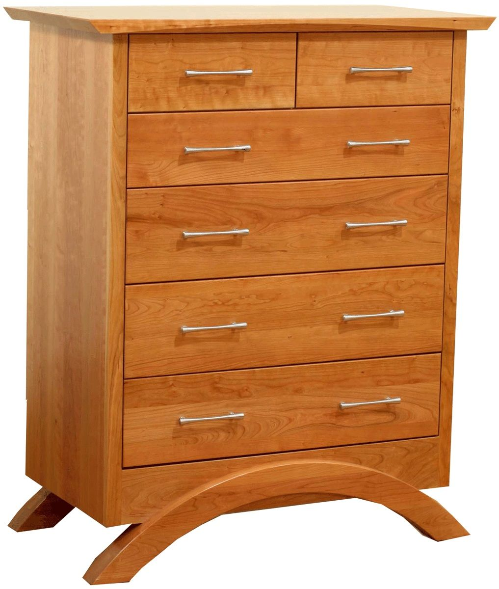 Neo Chest of Drawers in Natural Cherry
