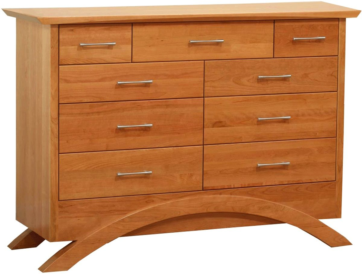 Neo Tall Dresser in Natural Cherry