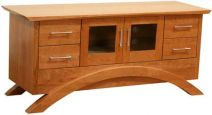 Neo TV Stand in Natural Cherry