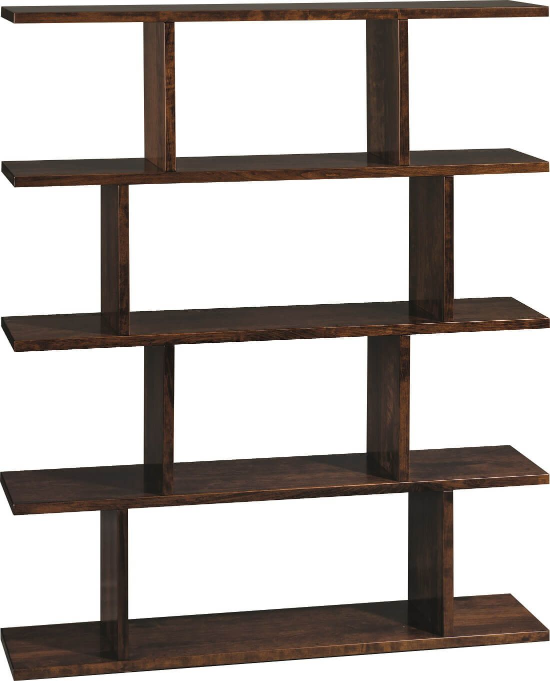 Solid Wood Modern Bookcase