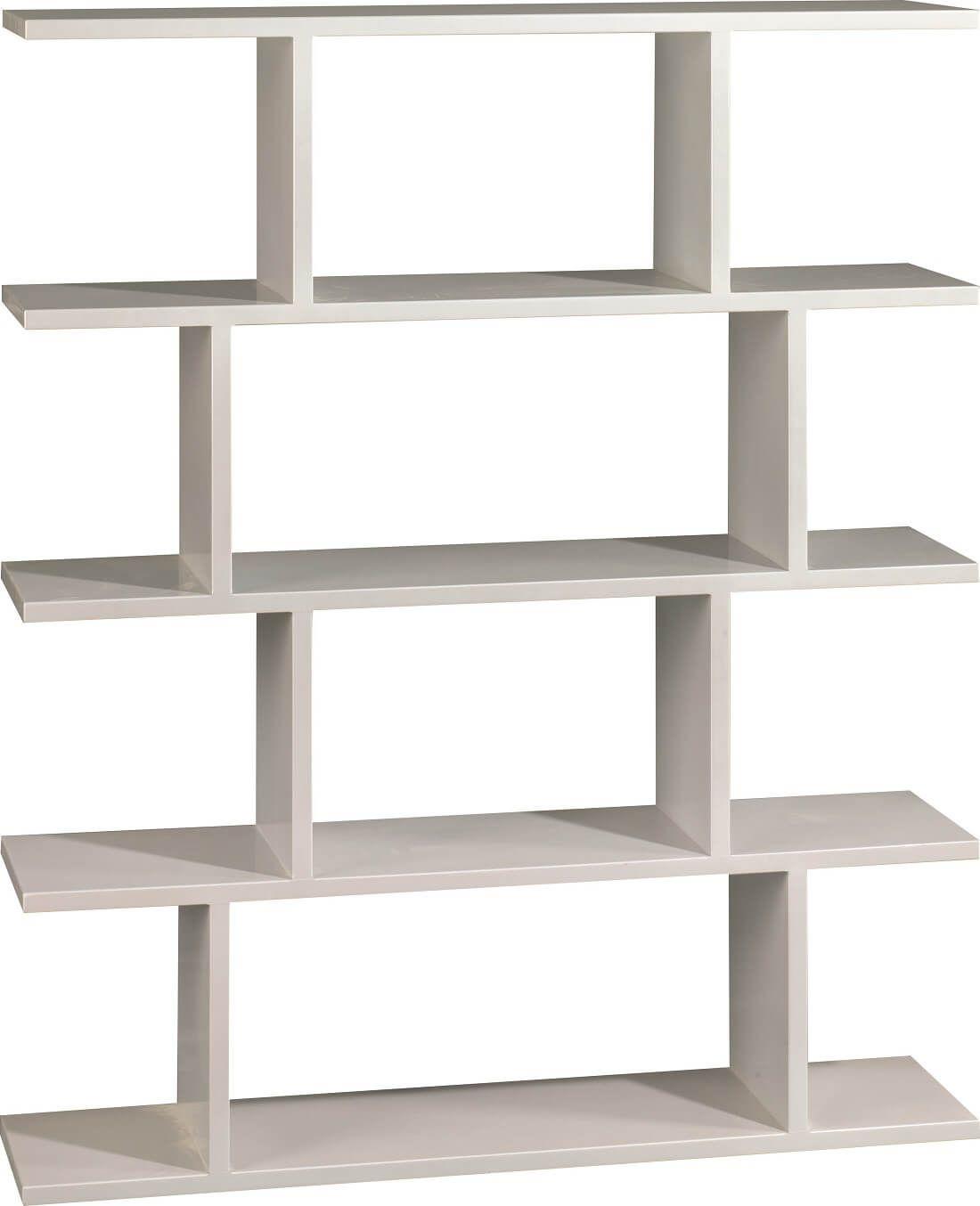 Painted Contemporary Bookshelf
