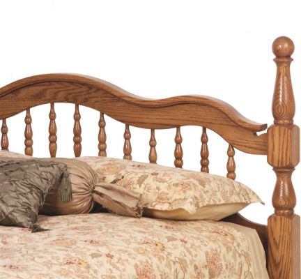 Cambridge Amish Cannonball Bed Countryside Amish Furniture