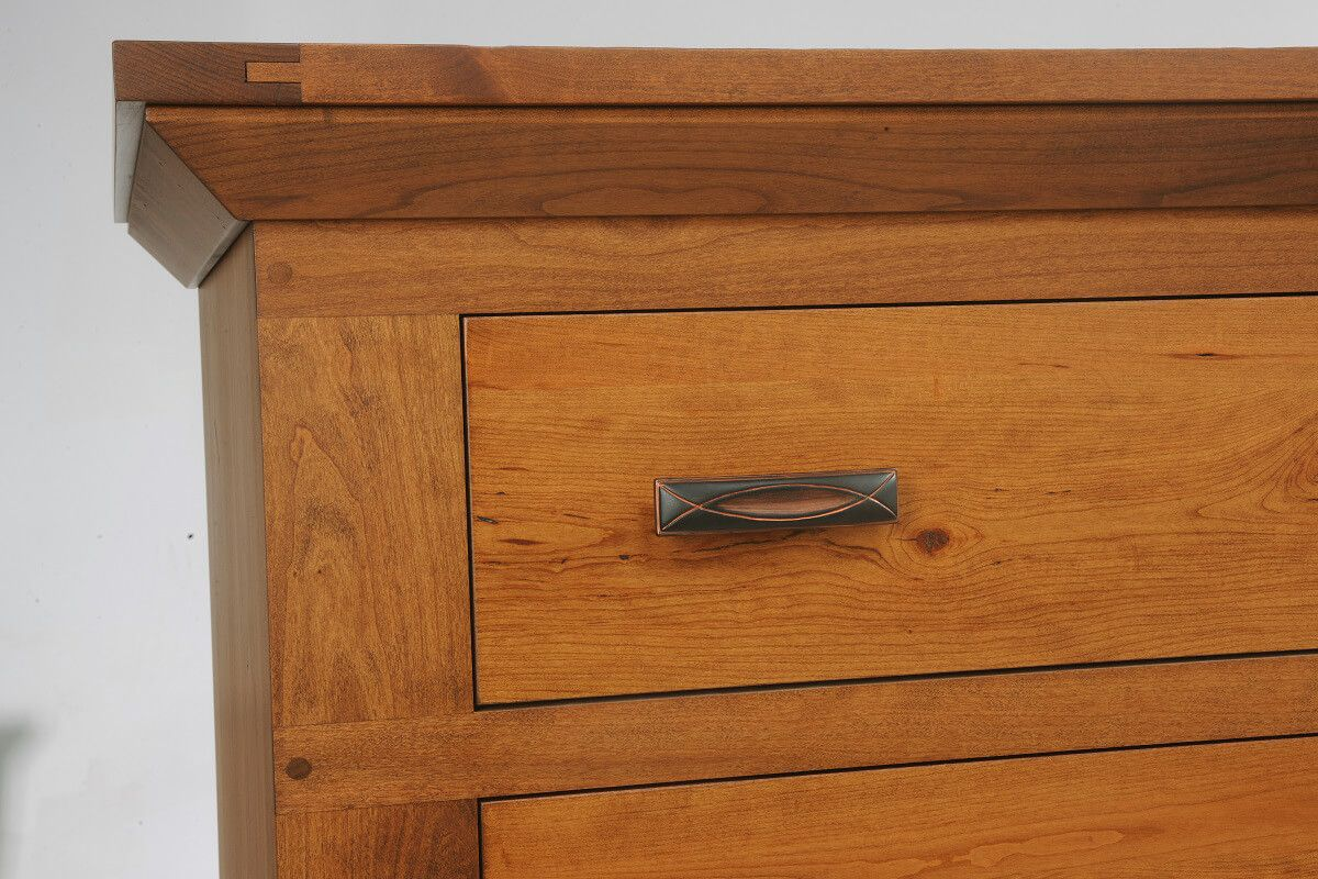 Roswell Small Chest of Drawers - Exposed Joinery