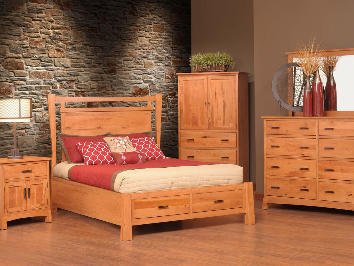 Anacapa Contemporary Bedroom Furniture Set